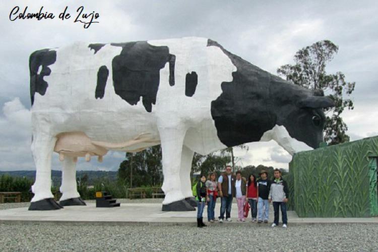 Manuela la vaca mas grande del mundo